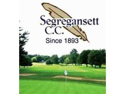 2 -18 holes of golf and cart at Segregansett Country Club