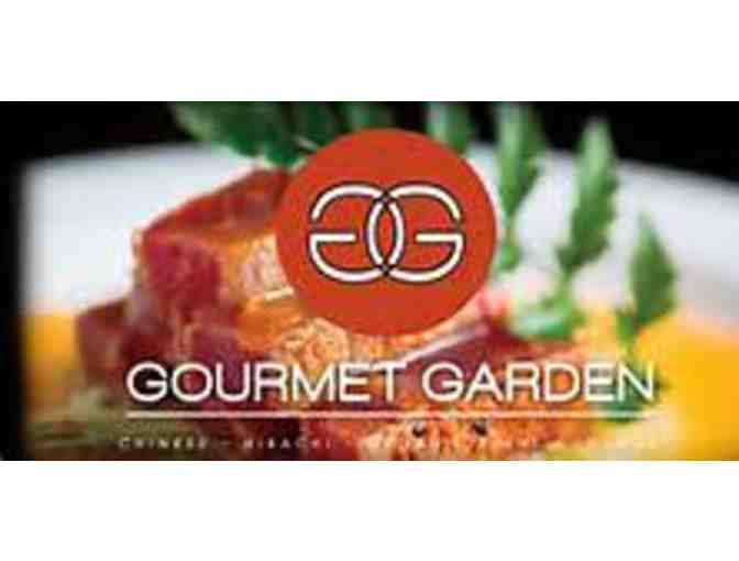 $20 gift card to Gourmet Garden