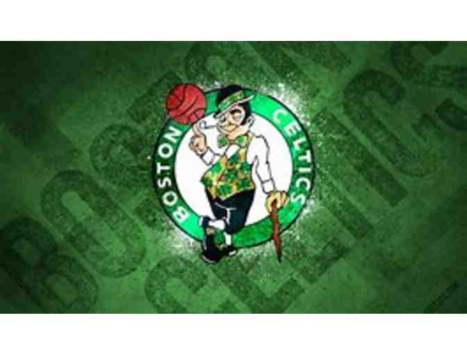 2 tickets to a Boston Celtics vs. Denver Nuggets game
