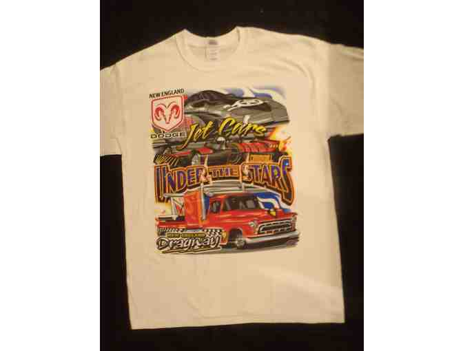 New England Dragway T-Shirt, Decal, & 50th Anniversary Ring