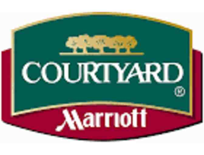 1 Night Accommodations with Breakfast for Two at the Courtyard by Marriott  in Norwood MA