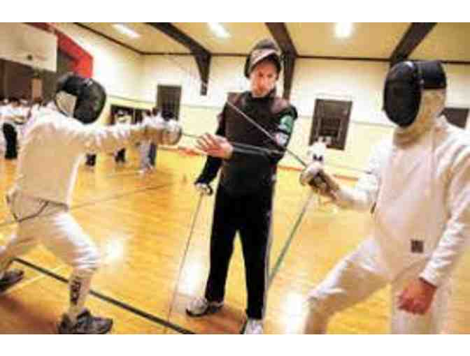 Try the Sport of Fencing!