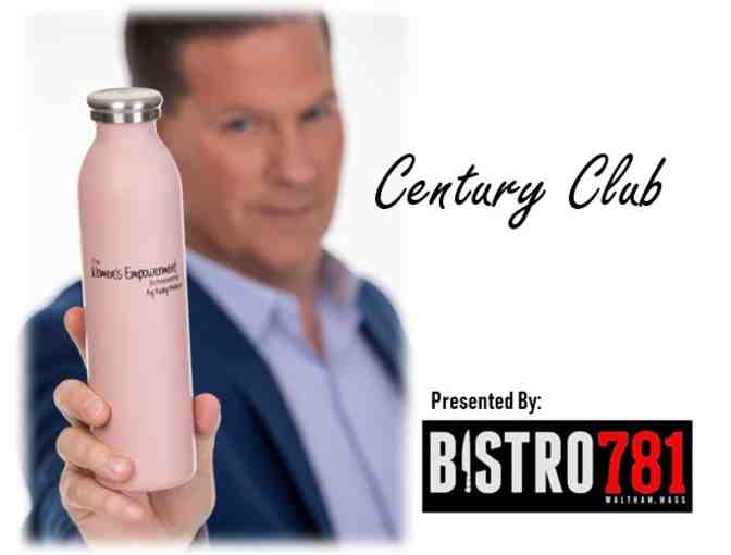 A+ ITEM: WIN PATRIOTS/CHIEFS TICKETS! Century Club Women's Empowerment Scholarship Bottle