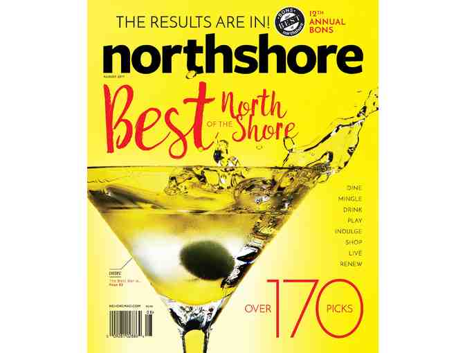 Advertise your business with North Shore Magazine