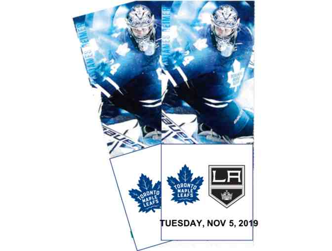 Toronto maple leafs against LA Kings