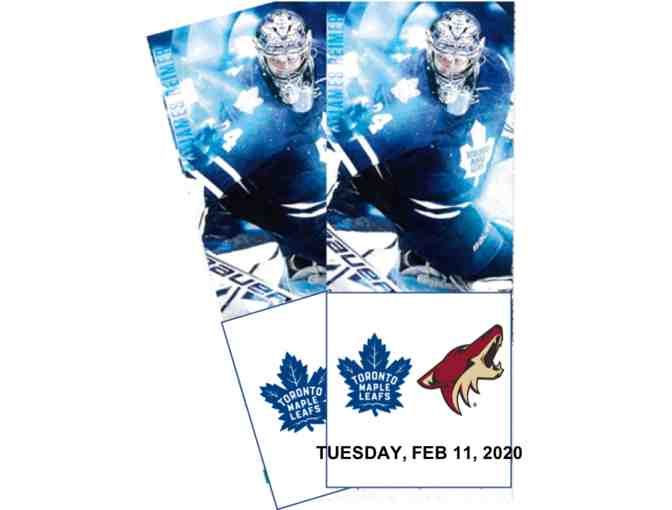 Toronto maple leafs against Arizona Coyotes