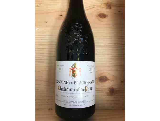 4 bottles of 2001 Chateauneuf du Pape available