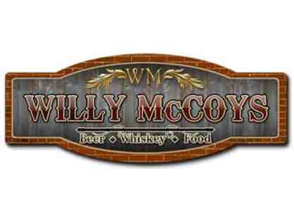 $50 Willy McCoy's Gift Card (multiple locations)