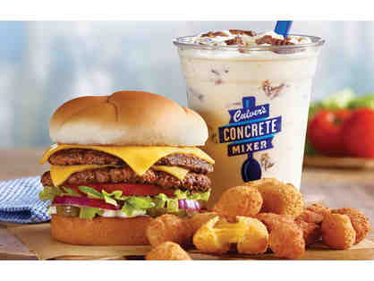 Dinner and Dessert for 4 at Culver's - Anoka