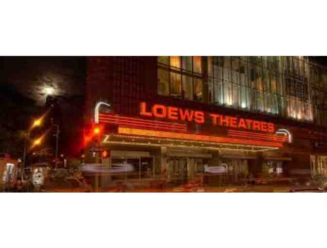 Raffle for AMC Loews Movie Theater Gift Card