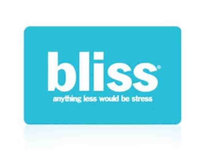 Raffle for Bliss Spa Gift Card