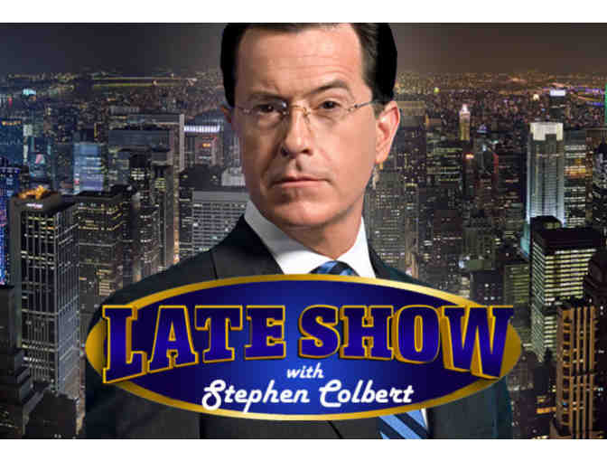2 VIP Tickets to The Late Show with Stephen Colbert