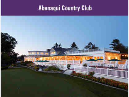 18-hole Round of Golf for Three with Lunch at Abenaqui Country Club