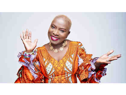 Two Tickets to Angelique Kidjo at The Music Hall on April 4th