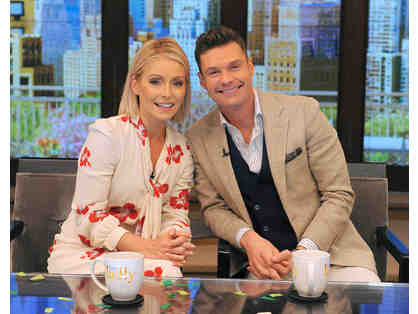 TWO Tickets to LIVE! with Kelly Ripa and Ryan Seacrest - TWO OPPORTUNITIES TO BID!