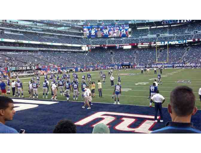 NY Giants vs. Detroit Lions on 9/18 - Section 123!