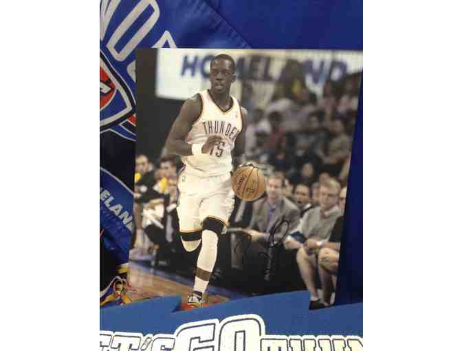 Thunder Fan Pack with Reggie Jackson-autographed photo