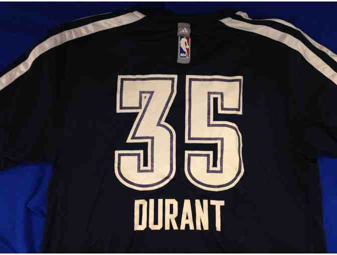 2013-14 Kevin Durant game-day worn shooting shirt