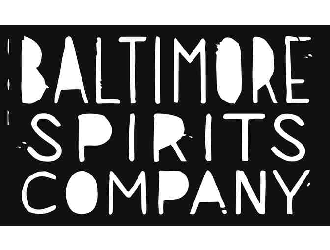 Private Tour of Baltimore Spirits Company