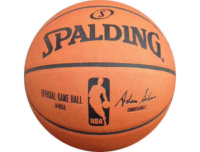Rudy Gay Autographed Basketball