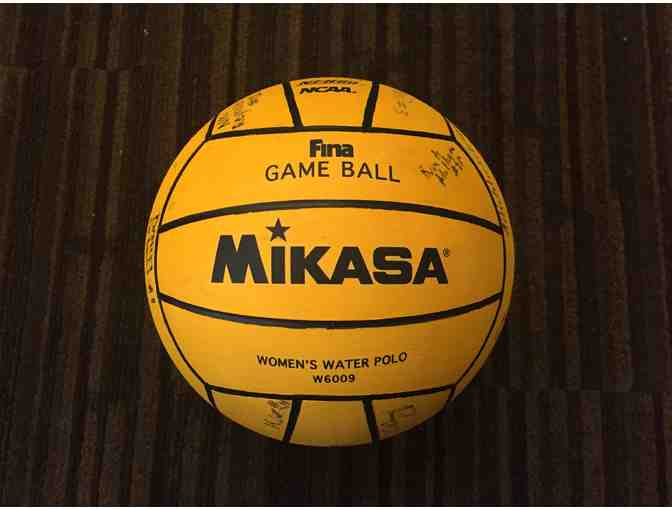 UCLA Autographed Women's Water Polo Ball