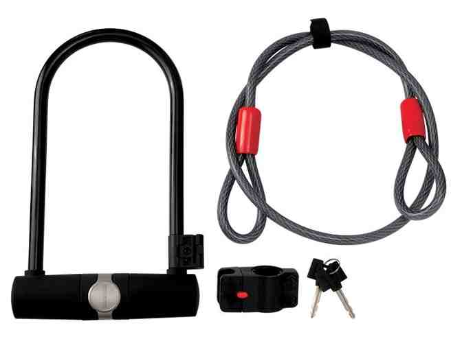 Diamondback Holmes U-lock with Cable Bike Lock Set