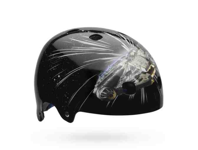 New Limited Edition Segment Jr. Star Wars Milliennium Falcon Kid's Bike Helmet Sz Small