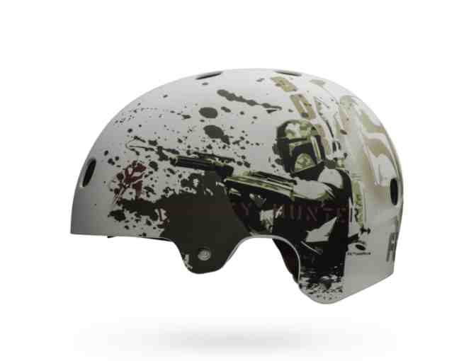 New Limited Edition Segment Jr. Star Wars Boba Fett Kid's Bike Helmet Sz Small