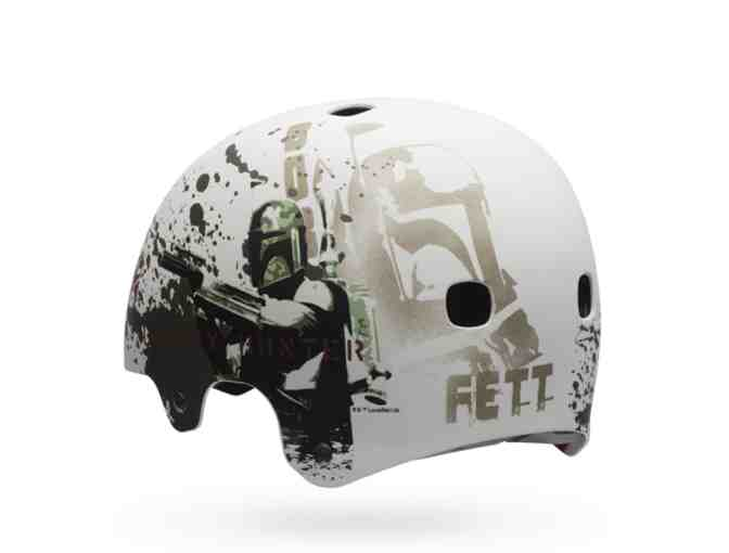 New Limited Edition Segment Jr. Star Wars Boba Fett Kid's Bike Helmet Sz XSmall
