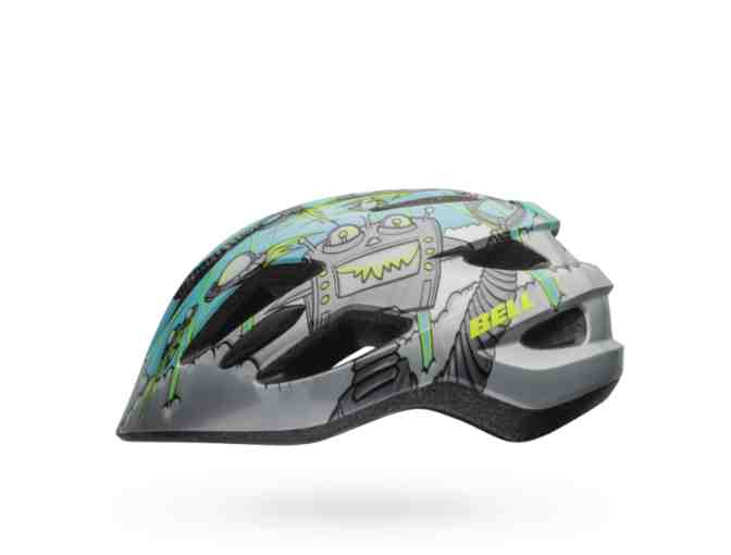 New Bell Zipper Robo Kid's Bike Helmet Sz Universal