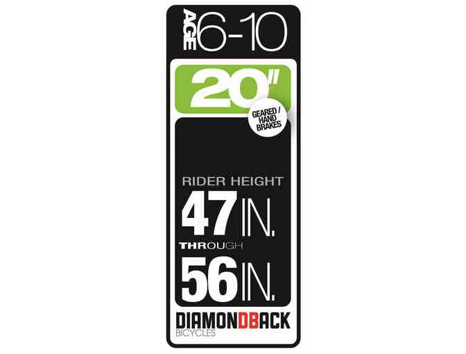Diamondback Youth Lustre 20' Bike Ages 6 - 10