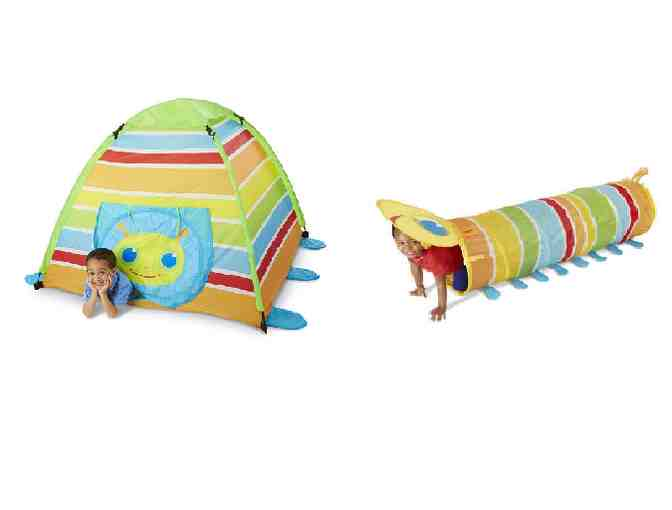 Melissa & Doug Giddy Buggy Tent & Tunnel