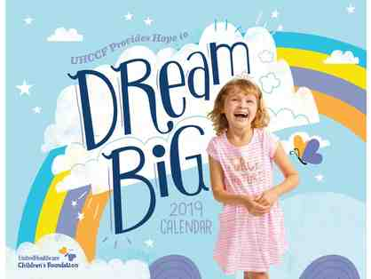 2019 UnitedHealthcare Children's Foundation Kidspiration Wall Calendar