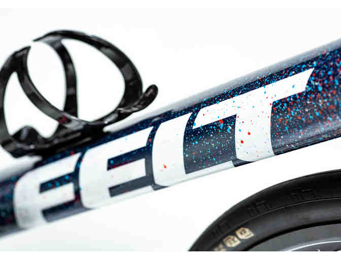 One-of-a-Kind, Hand Painted sz 56cm - Galaxy Themed - Felt FR Disc Bicycle