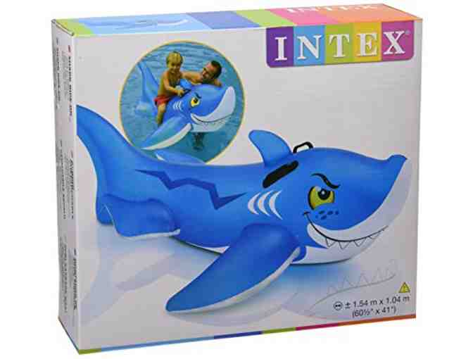 Intex - Friendly Shark Ride On Pool Toy - Photo 1