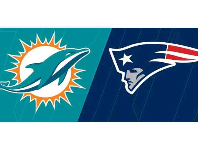 VIP Package- 2 Tickets to Miami Dolphins vs New England Patriots @ Gillette Stadium, MA - Photo 2