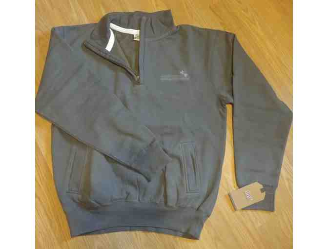 UHCCF Quarter-Zip Grey Pullover - Size Large - Photo 1