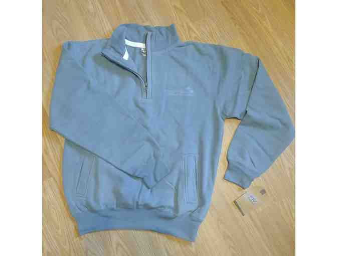 UHCCF Quarter-Zip Blue Pullover - Size Small - Photo 1