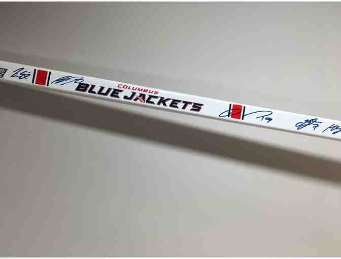 Columbus Blue Jackets - Autographed 2017 Hockey Stick!