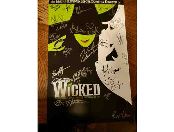 Wicked - Cast Signed Poster