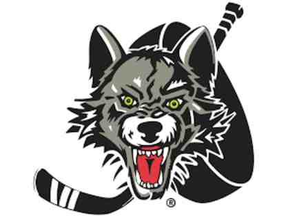 2 tickets to Chicago Wolves Game