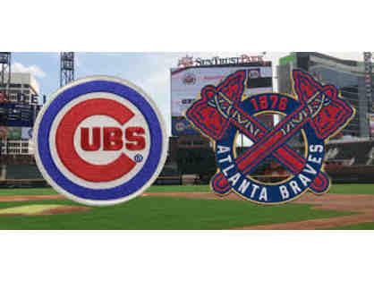 4 Cubs vs Braves Tickets August 4