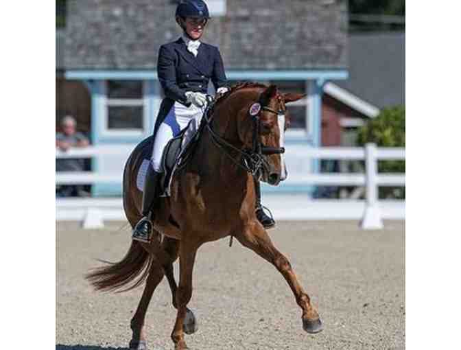 2- 45-minute Private Dressage Lessons with FEI trainer Inge Janke (#1)