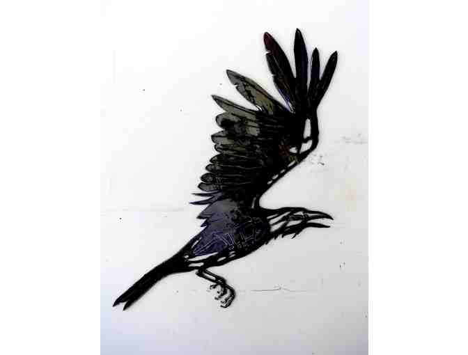 Wendy Klemperer's Shadow Raven Art