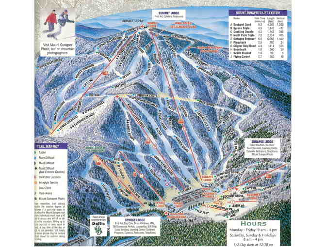 2 Lift Tickets to Mount Sunapee - Photo 2