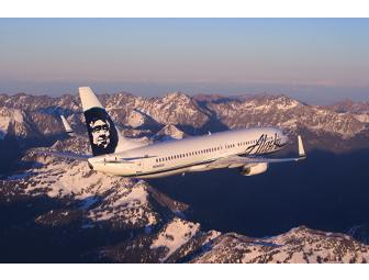 Alaska Airlines - Two Coach Tickets