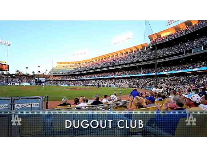 L.A. Dodgers Dugout Club Ticket Package