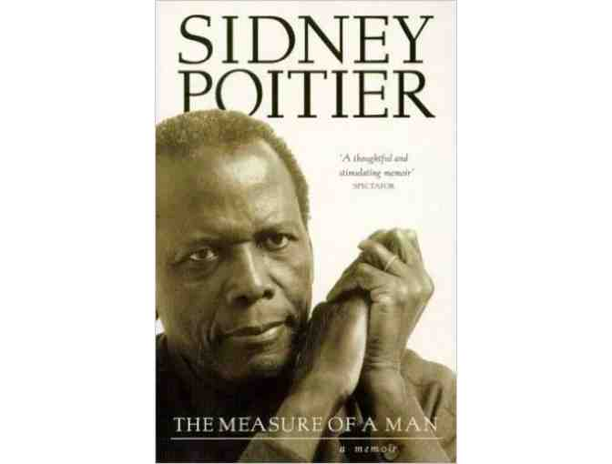 'The Measure of a Man' Autographed by Sidney Poitier
