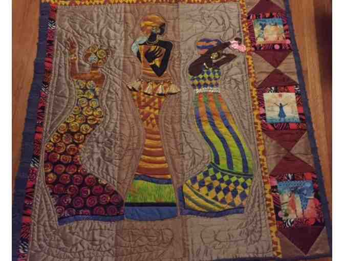 'Dancing Ladies' Handmade Quilt by Allyson Allen