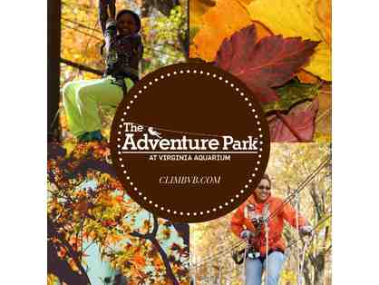 Adventure Park at the Virginia Aquarium - Two Vouchers